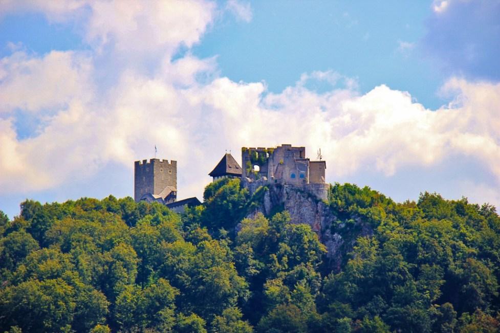 Celje Castle in Celje, Slovenia