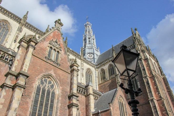 Grote of St. Bavokerk, Church of St. Bavo in Haarlem, Netherlands