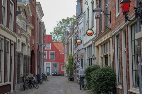 Haarlem Red Light District in daytime, Haarlem, Netherlands