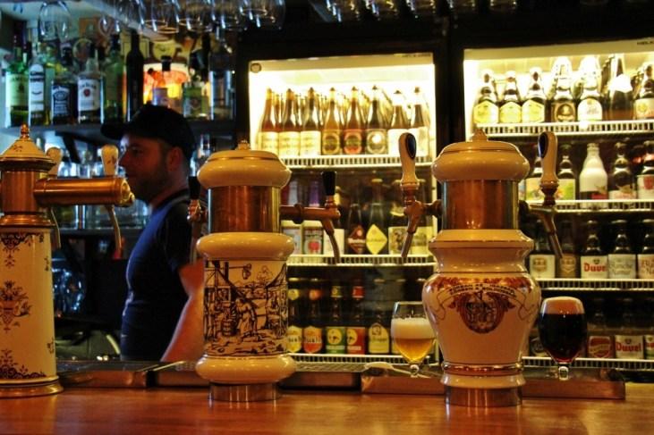 Hops Beer Bar in Budapest, Hungary