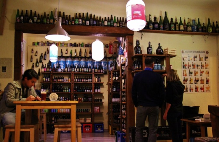 Only Good Beer, Csak a jo sor, bar and beer shop in Budapest, Hungary