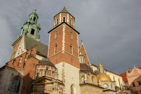 Cathedral at Wawel Castle in Krakow, Poland