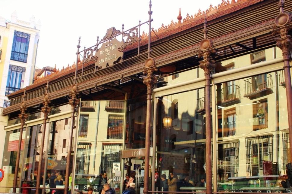 Mercado San Miguel in Madrid, Spain