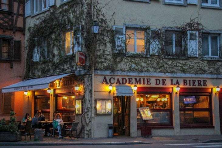 Academie de la Biere craft beer bar in Strasbourg, France