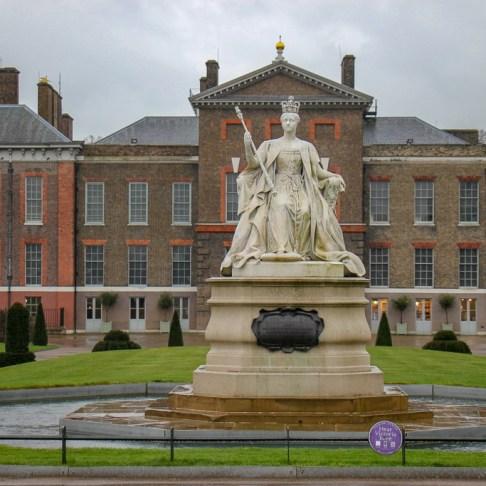 Visiting Kensington Palace in London, England