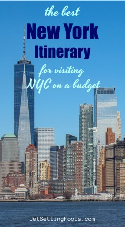 The Best New York Itinerary by JetSettingFools.com
