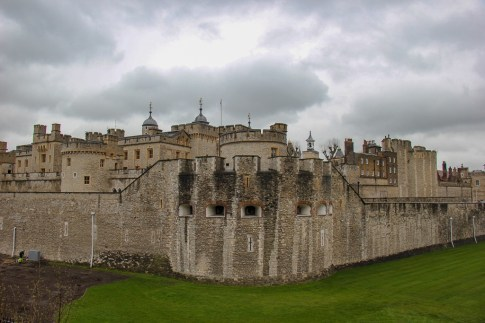 Visiting the Tower of London in London, England