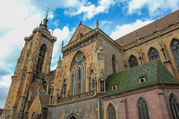 St. Martin's Church, called Colmar Cathedral, in Colmar, France