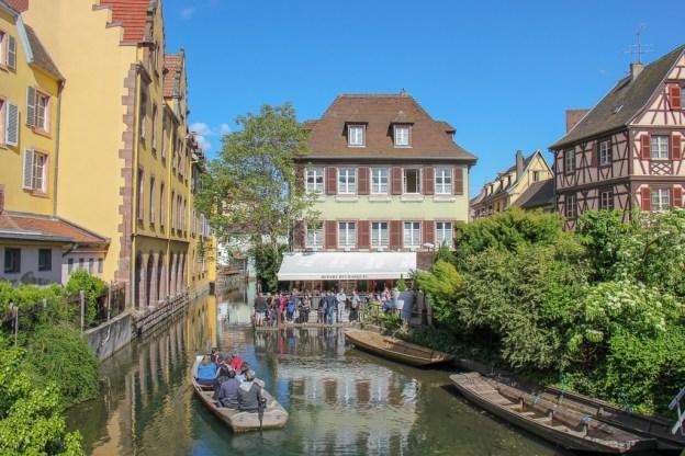 Canal Boat Ride in Little Venice in Colmar, France