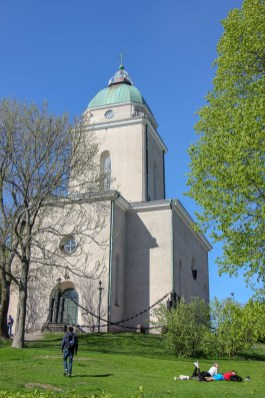 Suomenlinna Church in Helsinki, Finland