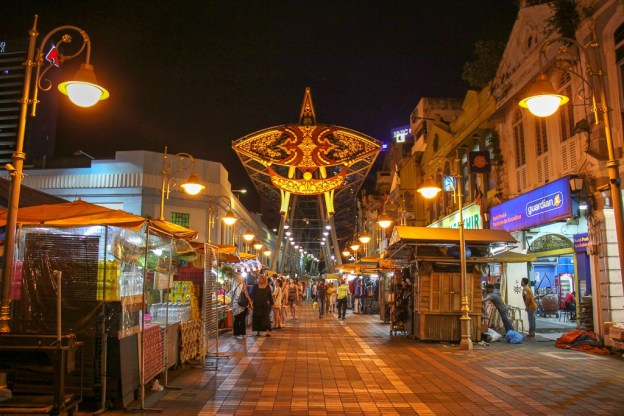Katsuri Walk in Chinatown Kuala Lumpur, Malaysia