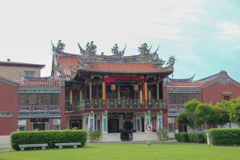 Ornate Cheah Kongsi Temple in Geroge Town, Penang, Malaysia
