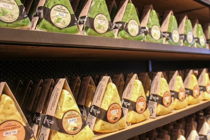 Gouda Cheese, Amsterdam, The Netherlands