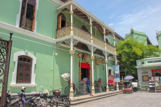 Pinang Peranakan Mansion museum in Geroge Town, Penang, Malaysia