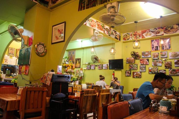 Popeye Thai Restaurant in Kamala Beach on Phuket Island, Thailand