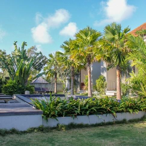 D'Padang Homestay pools and rooms in Uluwatu, Bali, Indonesia