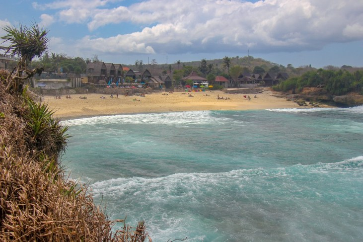 Views of Dream Beach, Nusa Lembongan, Bali, Indonesia