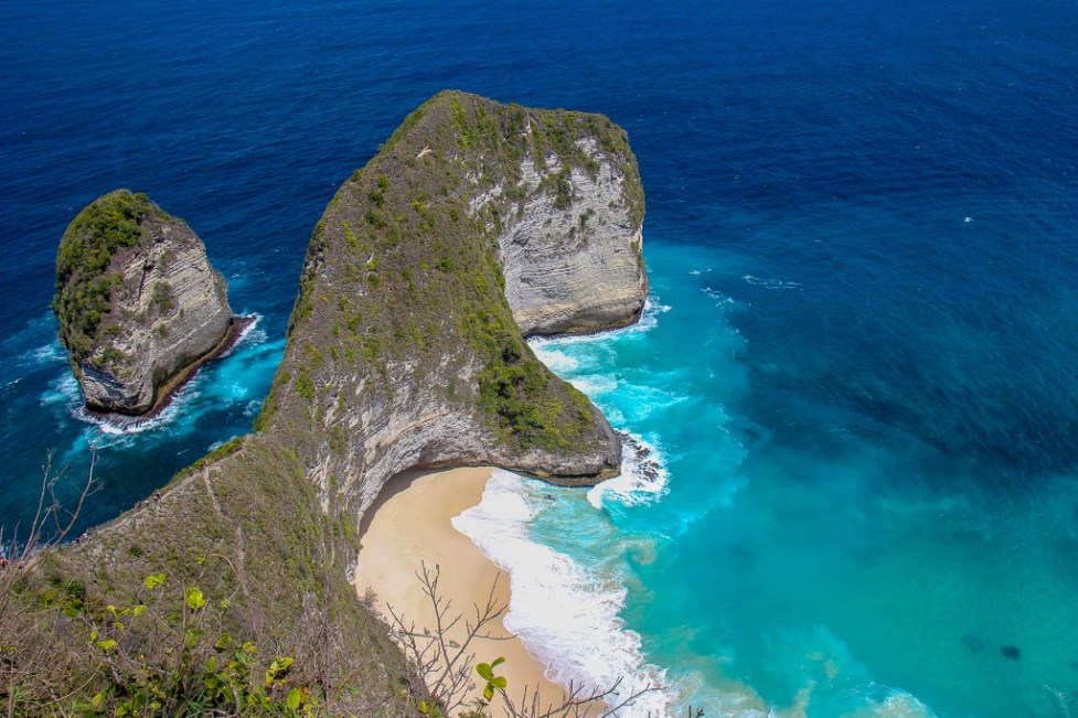 T-Rex Kelingking Beach on Nusa Penida, Bali, Indonesia