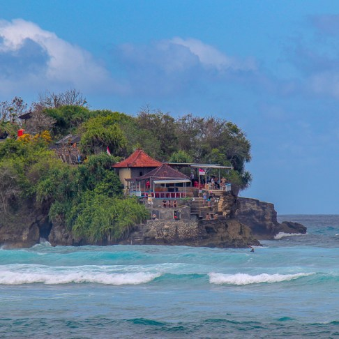 Mahana Point on Nusa Ceningan, Bali, Indonesia