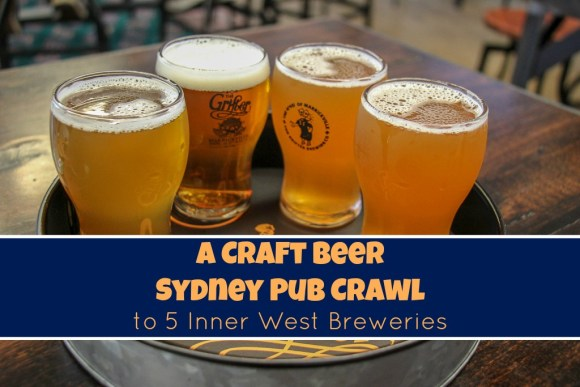 Craft Beer Sydney Pub Crawl 5 Inner West Breweries, Australia by JetSettingFools.com