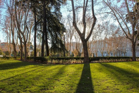 Sabatini Gardens, Madrid, Spain