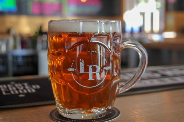 Beer at Lord Raglan Hotel pub craft beer bar in Sydney, Australia