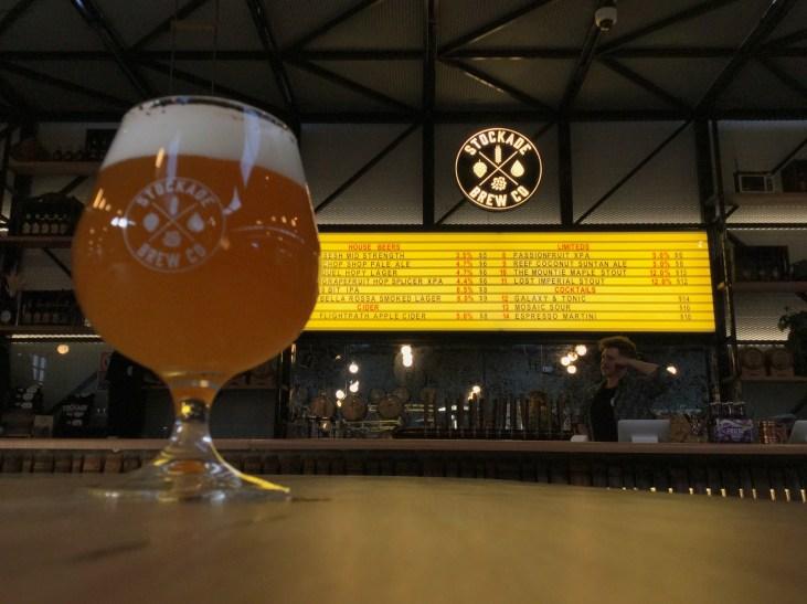 8 Bit IPA at Stockade Brewery in Marrickville, Sydney, Australia