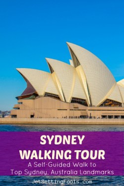 Sydney Walking Tour by JetSettingFools.com