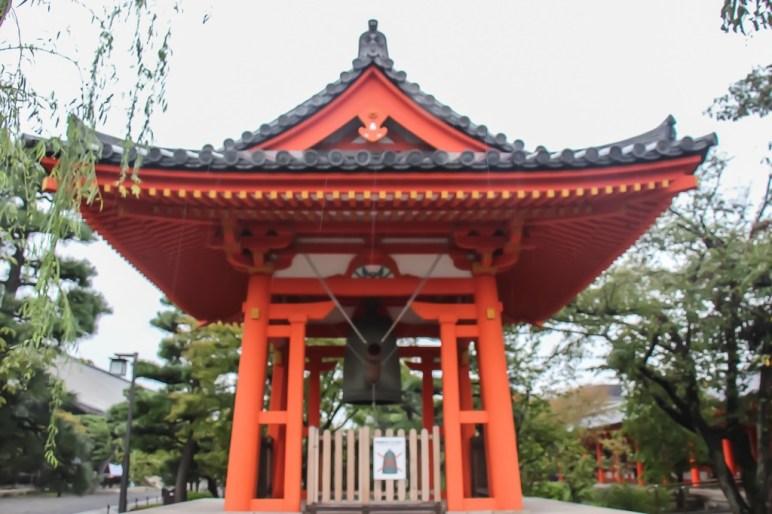 Bell, Rengeoin Sanjusangendo Temple, Kyoto, Japan