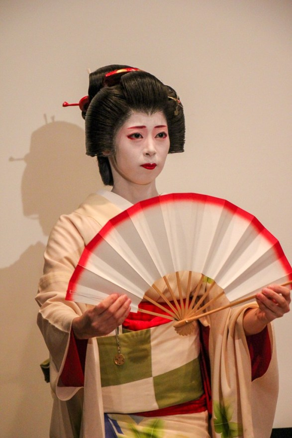 Geisha Performance at Asakusa Tourist Information Center in Tokyo, Japan