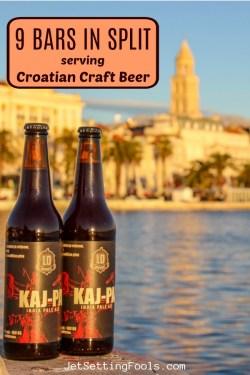 9 Bars in Split, Croatia by JetSettingFools.com