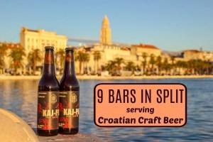 9 Bars in Split Serving Croatian Craft Beer by JetSettingFools.com
