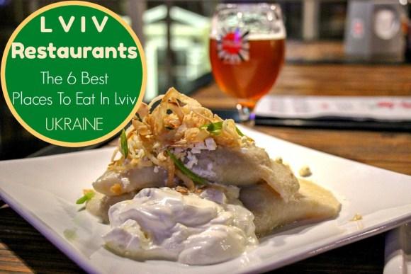 Lviv Restaurants The 6 Best Places to Eat in Lviv, Ukraine by JetSettingFools.com