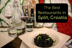 The Best Restaurants in Split, Croatia by JetSettingFools.com