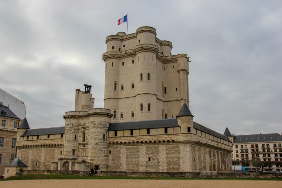 The Chateau of Vincennes in Paris, France