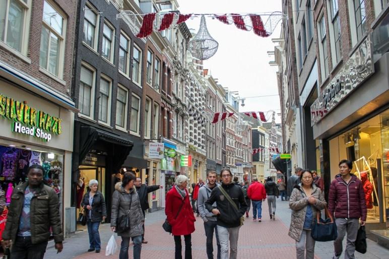 Nieuwendijk Shopping Street, Amsterdam, Netherlands