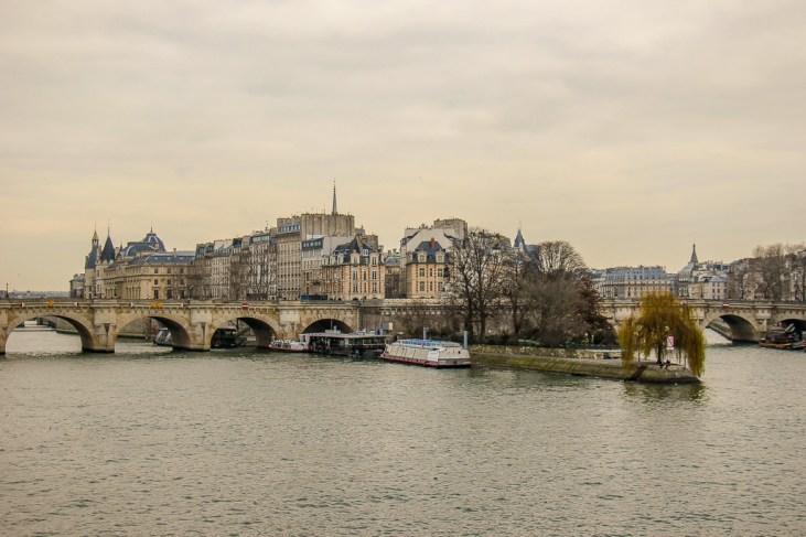 Pont Neuf and Ile de la Cite in Paris, France