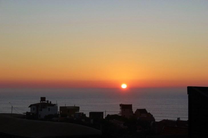 Sunrise in Punta del Diablo, Uruguay
