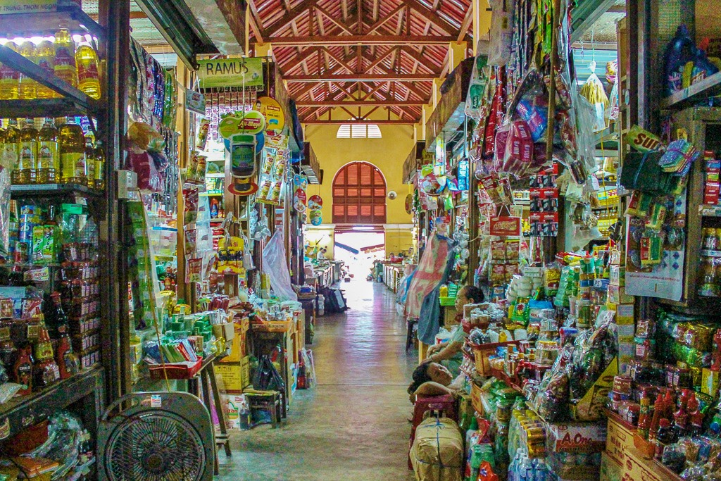 Central Market goods for sale in
