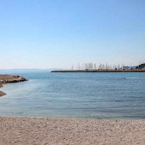 Trstenik Beach in Split, Croatia