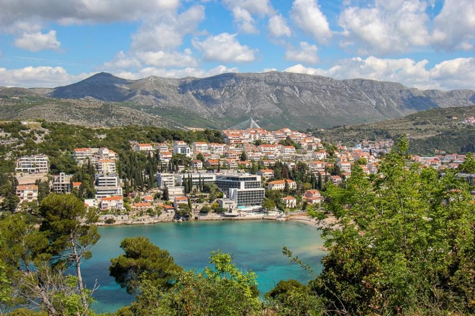 Lapad Bay in Dubrovnik, Croatia