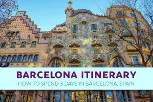 Barcelona Itinerary: How To Spend 3 Days in Barcelona, Spain by JetSettingFools.com