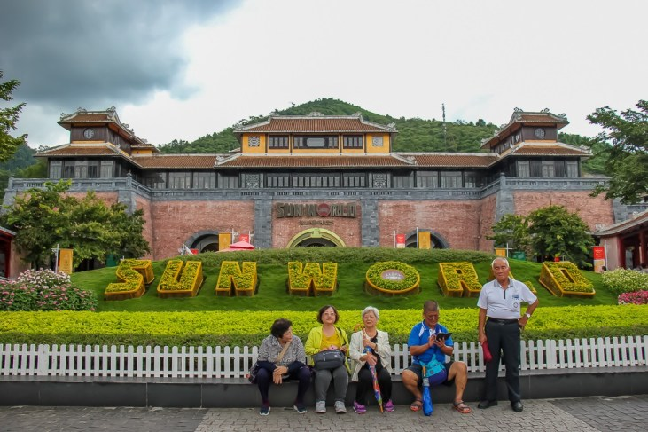 Entrance to SunWorld Ba Na Hills in Da Nang, Vietnam