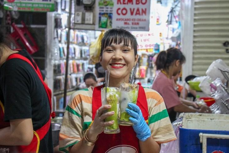 Amazing Avovado Ice Cream. Da Nang, Vietnam