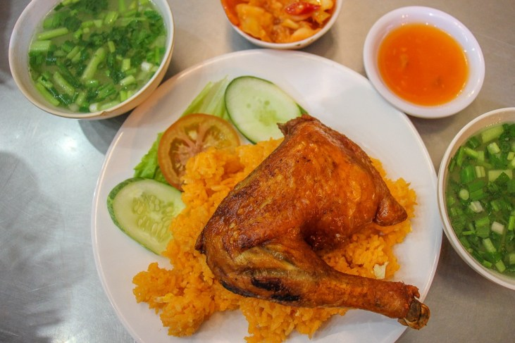 Com Gal Chicken and rice, Da Nang, Vietnam