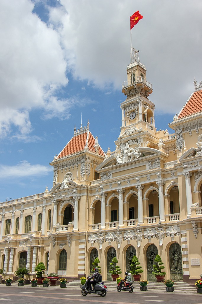 Iconic Saigon, City Hall, Saigon, HCMC, Vietnam