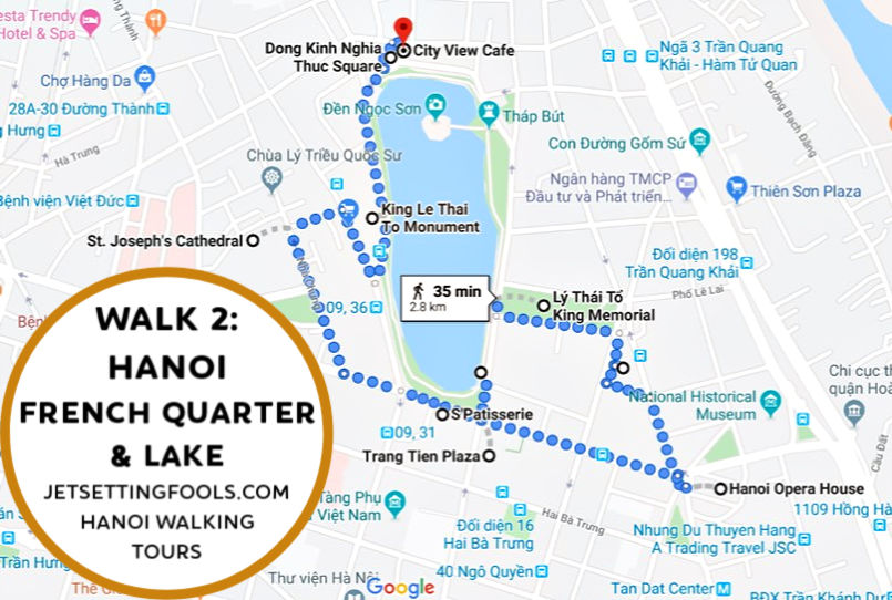 Hanoi Walking Tour Walk 2 by JetSettingFools.com