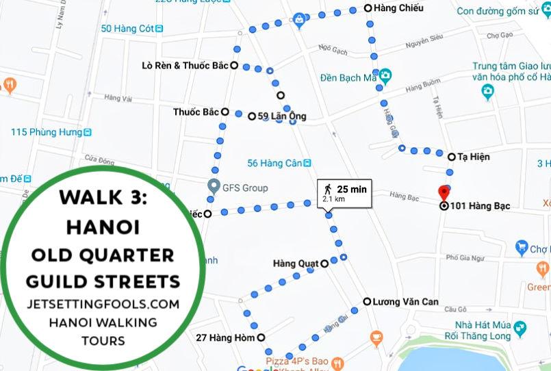 Hanoi Walking Tour Walk 3 by JetSettingFools.com