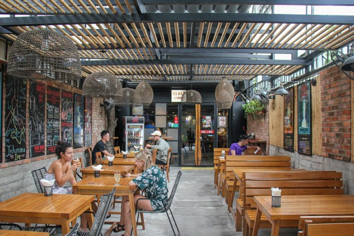 Fun patio at Heart Of Darkness Brewing, Ho Chi Minh City, Vietnam