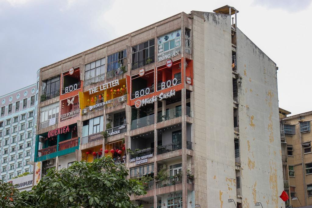 The Café Apartments, Saigon, HCMC, Vietnam